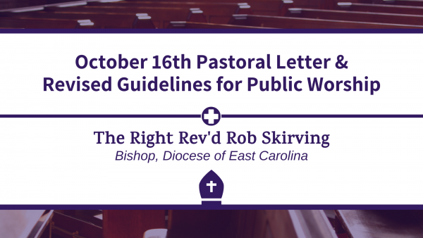 Pastoral Letter & Revised Guidelines for Public Worship